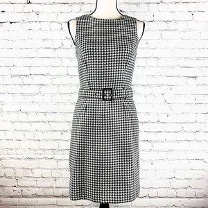 Ann Taylor Loft Houndstooth Dress size 0